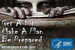 CDC: Get a kit, make a plan, be prepared